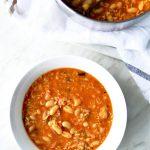 Rice and Bean Soup - Vegan