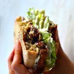 Vegan Oil Free Veggie Burger