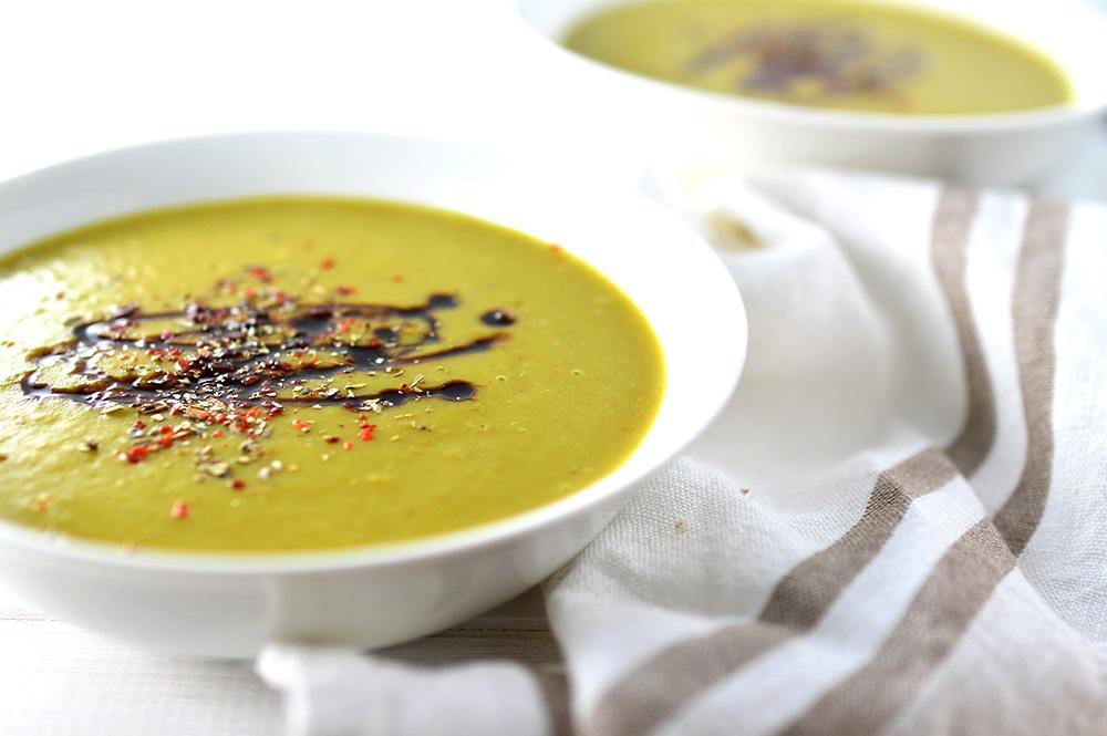 Vegan Oil Free Pea Soup