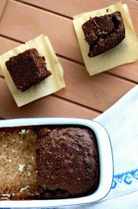 brownies de chocolate sin gluten