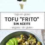 tofu frito sin aceite