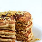 Whole Grain Vegan Fluffy Pancakes