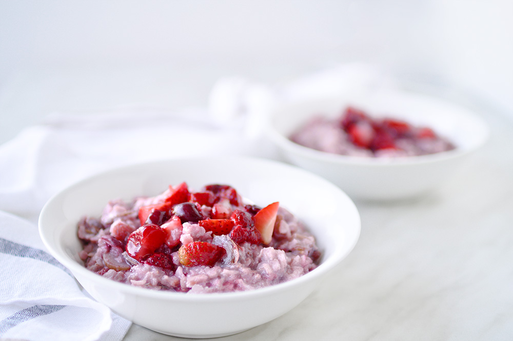 red berries porridge