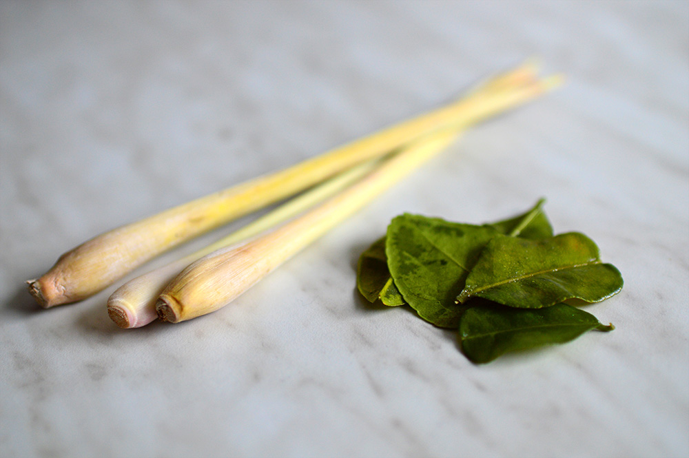 Lemon Grass and Kaffir Lime Leaves
