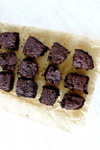 Oil Free Vegan Chocolate Pumpkin Brownies