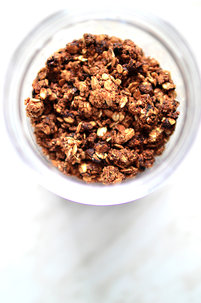 Oil Free Vegan Granola
