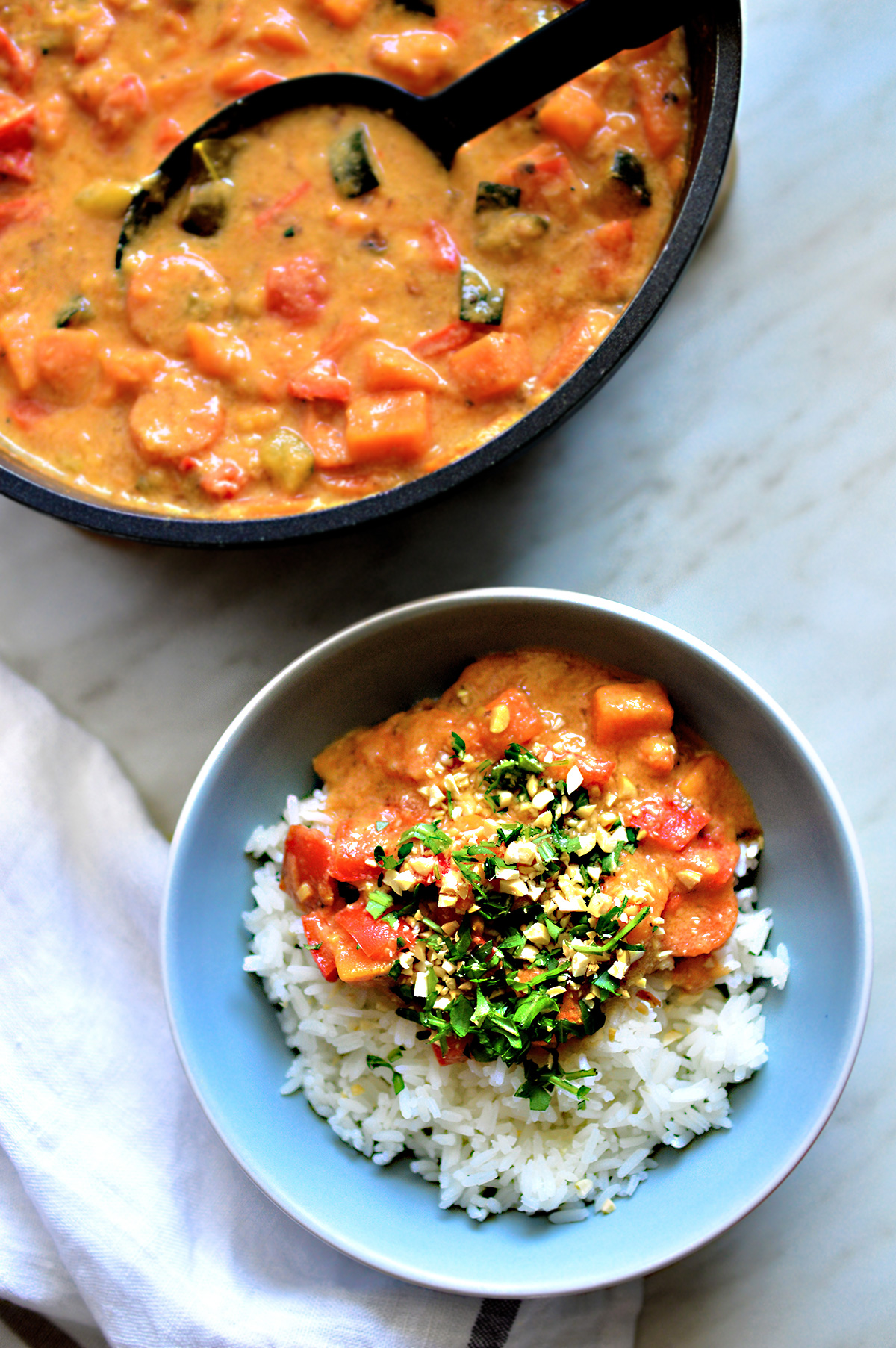 Peanut & Red Thai Vegan Curryola
