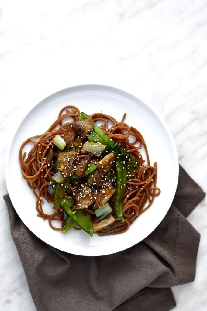 noodles stir fry with vegetables
