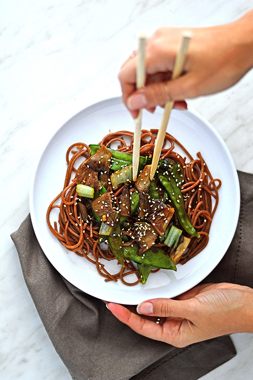 noodles stir fry with vegetables