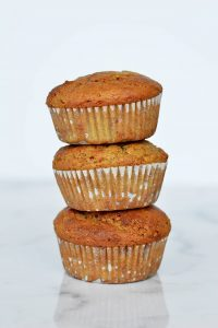 Orange yogurt muffins